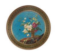 A FRENCH ORMOLU AND CLOISONNE ENAMEL TABLE-TOP