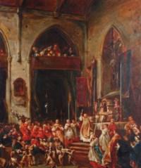 La bénédiction de Saint-Hubert