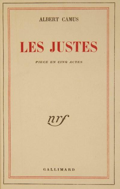 CAMUS, Albert (1913-1960). Les
