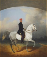 Officer of the Life Guards Hussar of his Majesty's Regiment