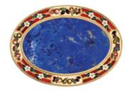 A SAXON ENAMELLED GOLD AND HAR
