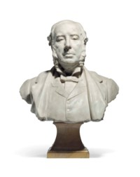 Portrait bust of Sir William Agnew, 1st Bt. (1825-1910)