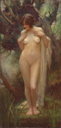 Nymph in a Wood