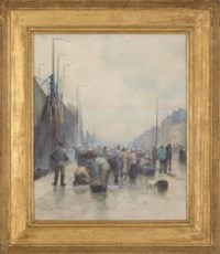 On the quay - Ostend