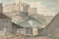 Edinburgh Castle from the south