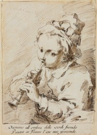 The little flute player