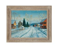 Untitled (A winter landscape)