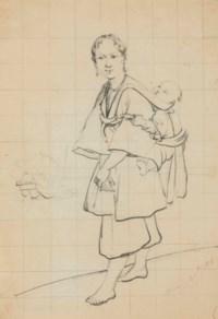 Mère portant son enfant sur le dos à Macao