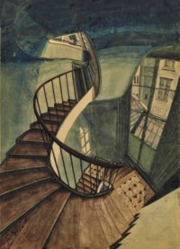 L'escalier, 54 rue de Seine