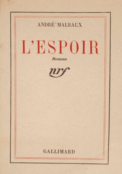 MALRAUX, André (1901-1976). L'