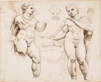 Studies of winged putti, after the antique