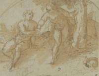 Adam and Eve (recto); Figure studies (verso)
