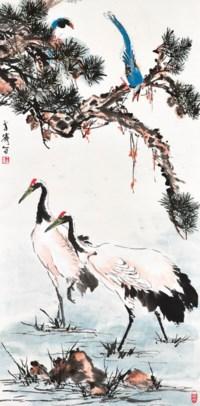 Pine and Birds