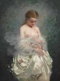 Jeune fille aux seins nus