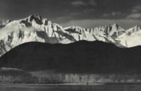 Winter Sunrise, Sierra Nevada from Lone Pine, California, 1941