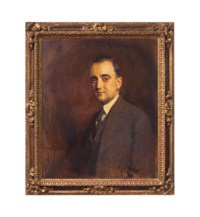 Probably a portrait of William MacDonald Gower