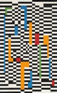 Pannello a scacchi bianchi e neri