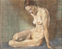 Nude, Charlotte Newman