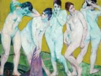 An Arrangement: Group of Nudes