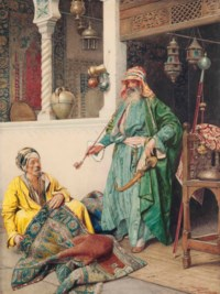 A rest at the bazaar