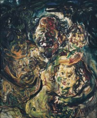Affandi and Grandchildren