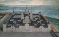 View of the Royal Monastery of San Lorenzo de El Escorial