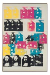 Colored Mona Lisa