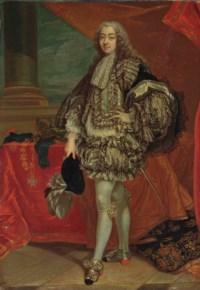 Portrait de François-Joachim-Bernard Potier (1692-1757) en habit de l'Ordre du Saint-Esprit