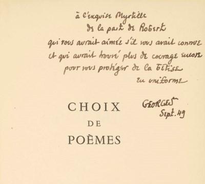 Robert Desnos (1900-1945). Cho