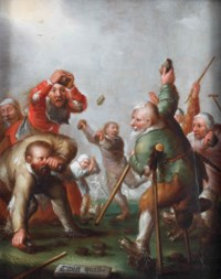 'Twist quist': a brawl between beggars and cripples