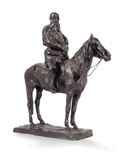 TOLSTOY ON HORSEBACK