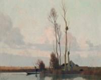 Soir sur le marais