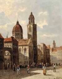 A capriccio view of Florence