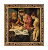 The Madonna and Child with Saint Catherine of Alexandria and a donor