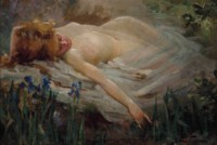 Dreaming nymph