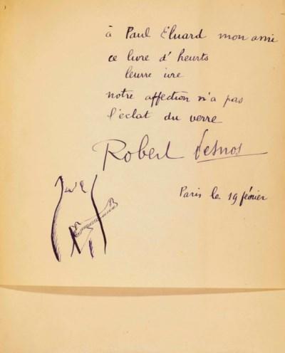 Robert DESNOS (1900-1945). Deu