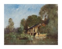By the watermill, Fresnay-sur-Sarthe