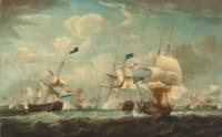 The Battle of Camperdown, 11 October 1797