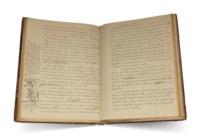 MONTFERRAND, Auguste de (1786-1858). Autograph manuscript, 'Description de l'habitation d'un Maçon, Tome 1', with extensive revisions, Paris, 1853.