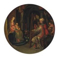 Saint Luke painting the Virgin and Child
