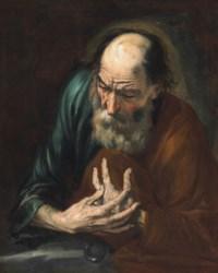 The penitent Saint Peter