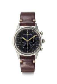 Wittnauer. A Fine Stainless Steel Chronograph Wristwatch
