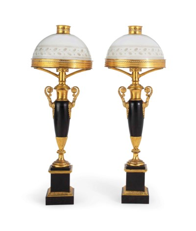 A PAIR OF NEOCLASSICAL GILT-ME