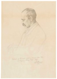 Portrait of Rudyard Kipling