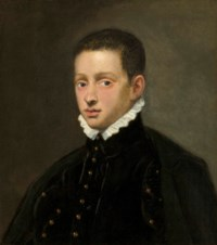Portrait of a boy, probably of the Mocenigo family, bust-length
