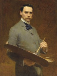 Self-portrait, circa 1896