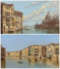 The entrance to the Grand Canal, Venice; and The Grand Canal, Venice