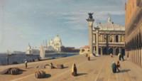 Venise, vue du Quai des Esclavons