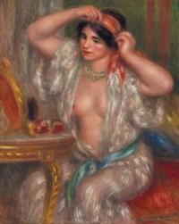 Gabrielle au miroir