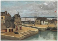 Honfleur, Maisons sur les quais